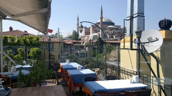 Alaturka Hotel : View to 1500 years of history