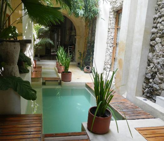 Hotel Casa Lola: Innenhof
