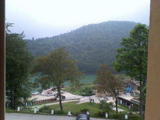 Hotel Du Lac: Ausblick aus dem Zimmer