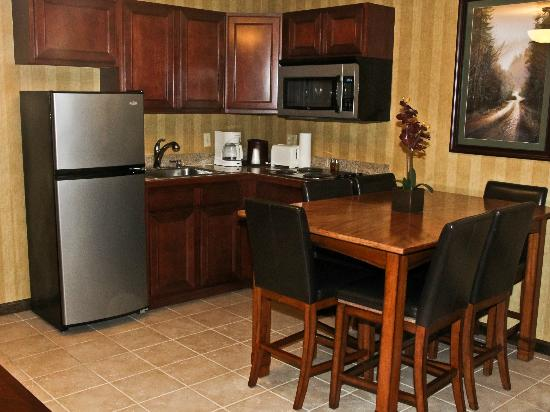 Water's Edge Inn: Mountain View Suite Kitchenette