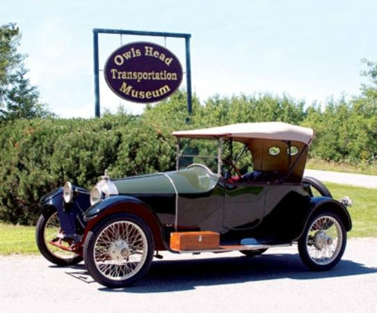 Owls Head, Мэн: 1916 Scripps Booth Roadster