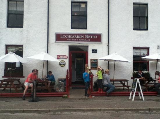 Lochcarron Bistro : bistro outside