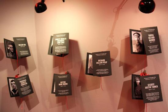 Historial de la Grande Guerre : Part of the Missing of the Somme exhibition