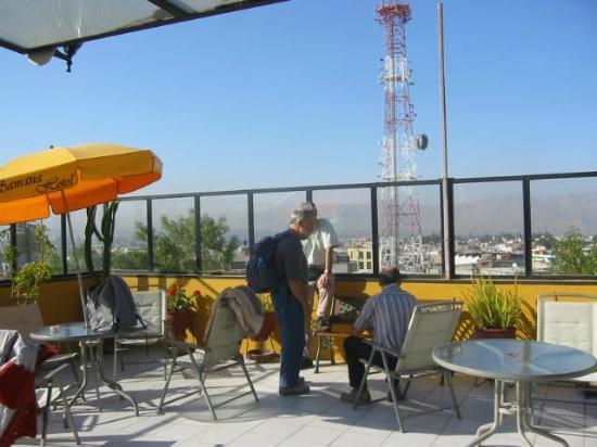 Hotel Samana Arequipa: Terraza del Hotel