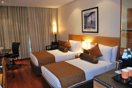 Radisson Blu Marina Connaught Place: twin bedded room