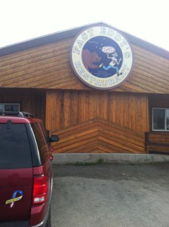 Fast Eddy's Restaurant: just off AK 1 in Tok, AK... a must stop on the ALCAN
