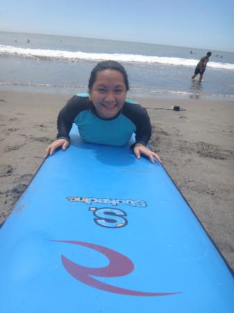San Juan Surf Resort: Me! ready to surf