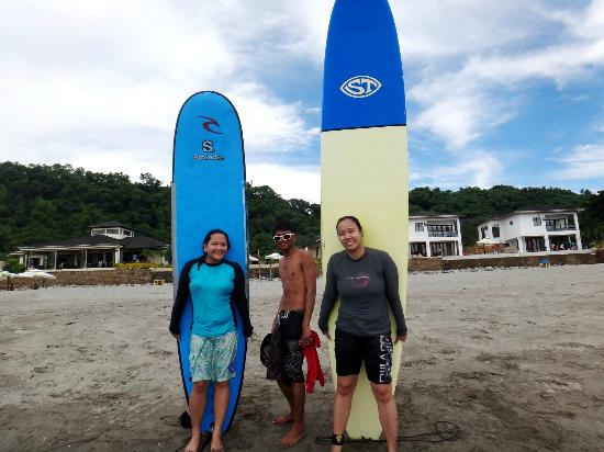 San Juan Surf Resort: Kuya Rudy - the trainer