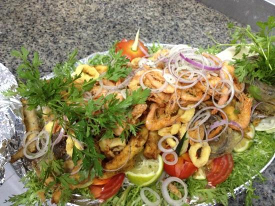 Le 20' Restaurant: friture de poissons et crustacé un vrais délice