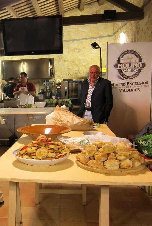 Centro di Cultura Gastronomica Molino Excelsior: che fame!