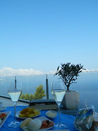 Relais Blu Belvedere: la colazione...