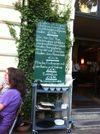 LENZ Schank und Speiselokal: Specials board