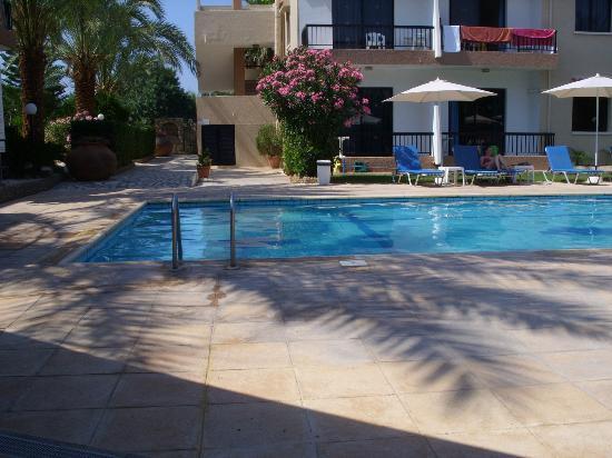 Hadjiantoni Anna Hotel Apartments: Una veduta della piscina