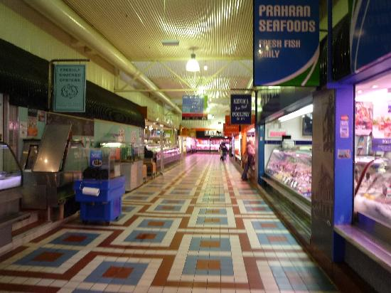 Prahran Market: entrance