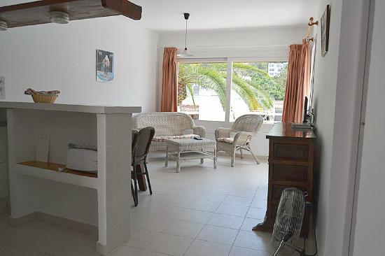 Apartamentos Siesta Mar: Salón