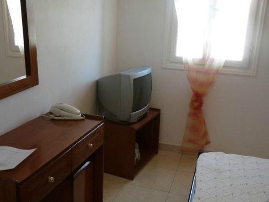 Bella Santorini: La camera da letto molto accogliente