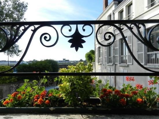 Côté Loire - Auberge Ligérienne : View from Our Window