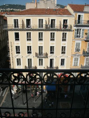 Les Studios Floreal: view from balcony