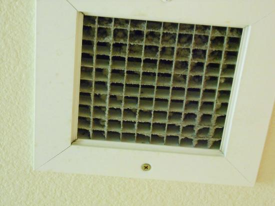 Comfort Inn & Suites: Note to maintenance staff....look up.