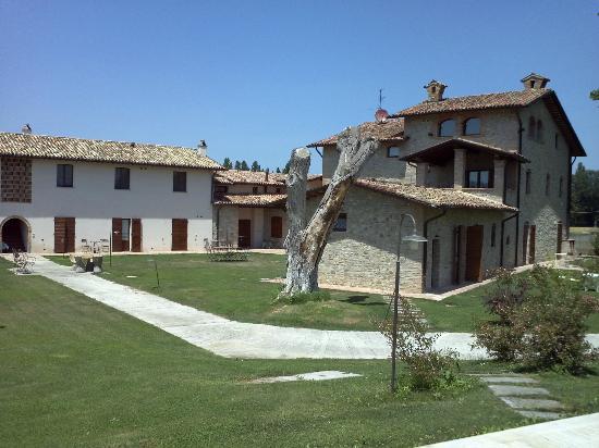Borgo Spinara: vista degli appartamenti