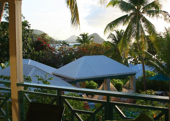 Sugar Mill Hotel: View from Pool Suite, Room 103