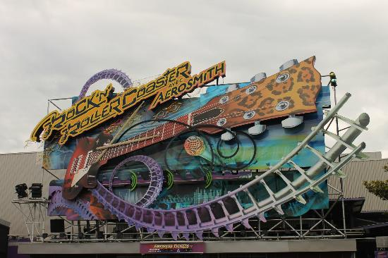 Rock N Roller Coaster Awesome Ride Picture Of Walt