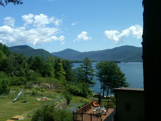 Contessa Lake George Motel & Resort: view from our room, suite 6