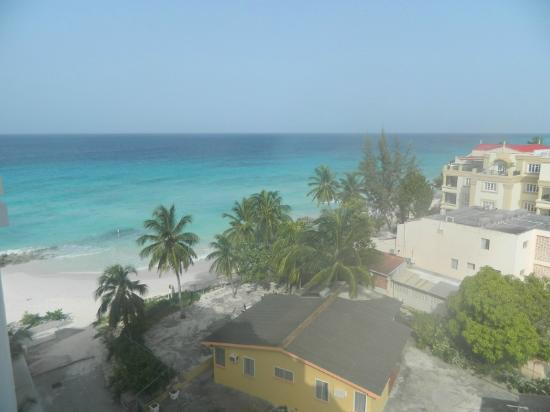 Ocean Two Resort & Residences: View from our room on the west side of the resort