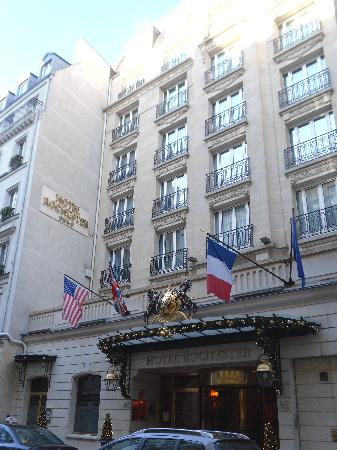 Rochester Champs-Elysees Hotel: The hotel!
