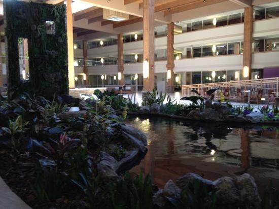 Crowne Plaza, Suffern: pond