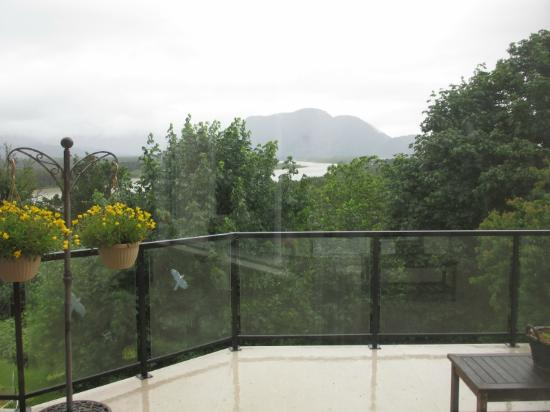 Riverview B&B: One of the views 