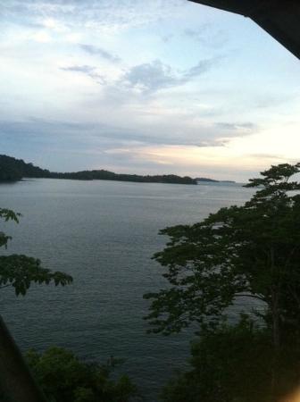 Hotel Boca Brava: View from the upper deck
