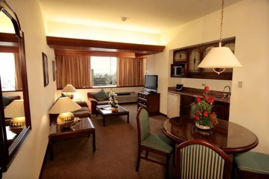 Thunderbird Hotel J. Pardo: Living room