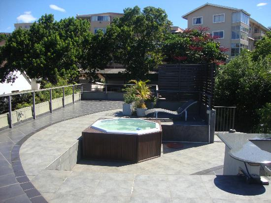 Durban View Guest House: Jacuzzi on roof terrace