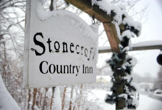 Stonecroft Country Inn: Stonecroft in winter