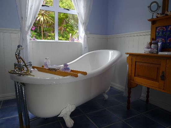 Cape Rose Cottage: ---- keine Sorgen, es gibt eine Dusche im Bad ---