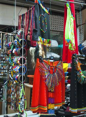 Street Scene Tours: A skirt for young Zulu initiates