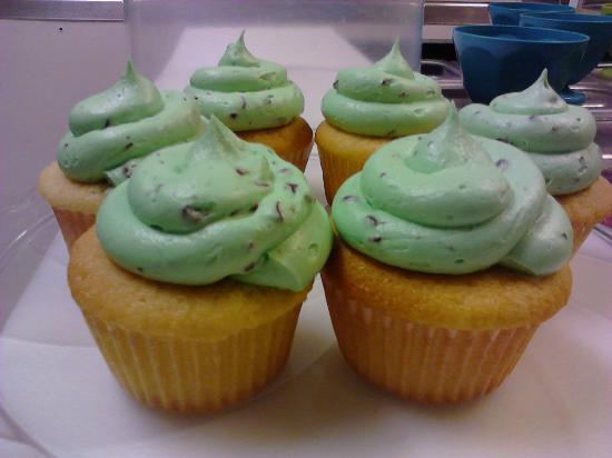 Sweet Spot: Mint Chip Cupcakes