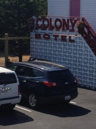 Seaside Colony Motel: colony