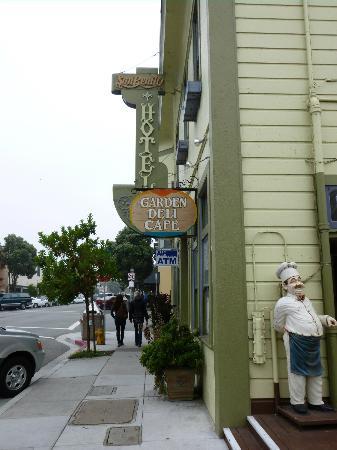 San Benito House Deli - Front Door