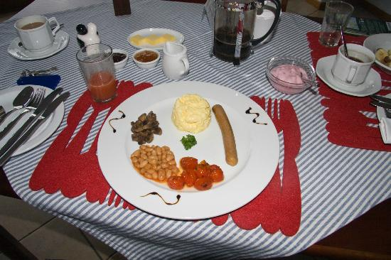 Blue Oyster B&B: English Brekkie Veggie Style