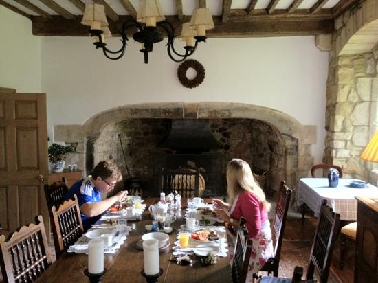 Ogle Castle Bed & Breakfast: that breakfast!!