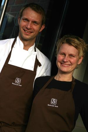 Restaurant Smak: Eva-Linda and Espen
