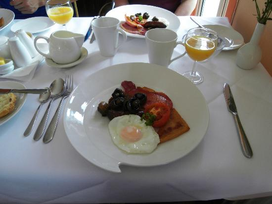 Donegal Manor: excellent Irish breakfast