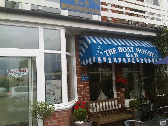 The Boat House: really nice welcoming frontage