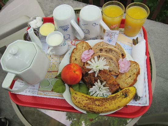 Couette et Cafe Champlain: Le petit dejeuner