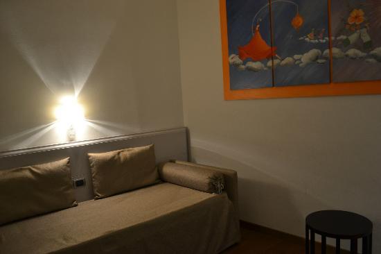 La Signoria di Firenze B&B: Foyer/daybed, Masaccio room
