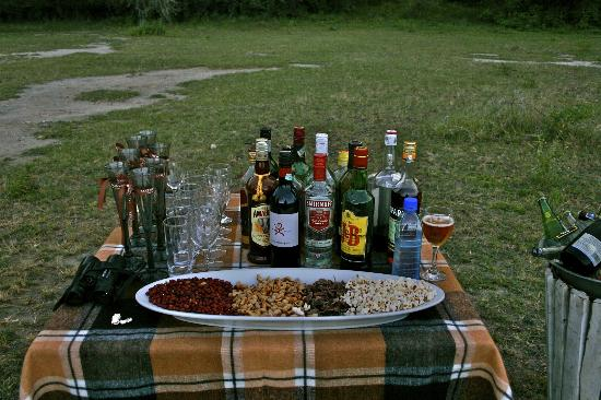 andBeyond Lake Manyara Tree Lodge: treats!