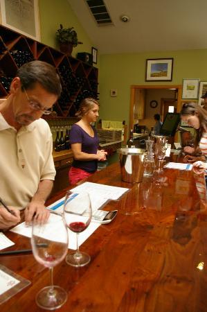 Alexander Valley Vineyards : Scott? Doing the pours.