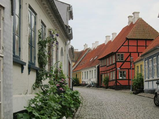 Pension Vestergade 44: the charming town of Aeroskobing